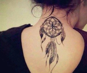 dreamcatcher, neck, and girl image