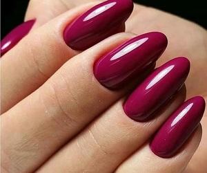 magenta, purple, and nail art image