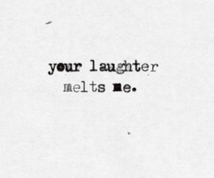 laughter, love, and quotes image