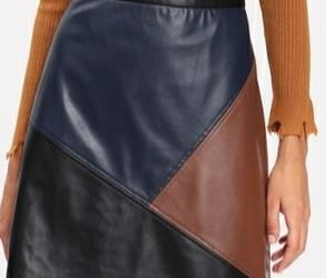falda, shein, and cuero image