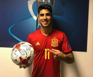 football, spain, and marco asensio image