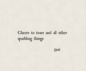 quotes, tears, and words image