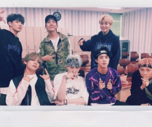 aesthetic, polaroid, and bts image