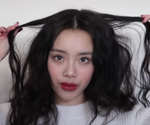 beautiful, make up, and girl image