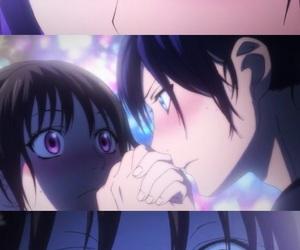 hiyori, noragami, and yato image