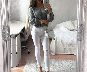 clothes, white, and cute image