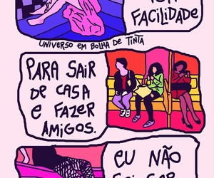 br, sad, and tirinhas image