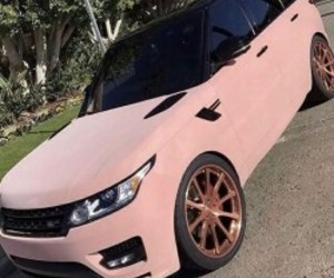 car, pink, and cute image