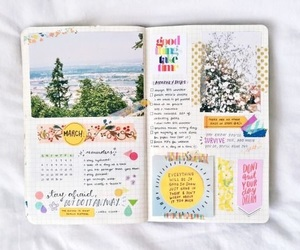 inspiration, bullet journal, and art image