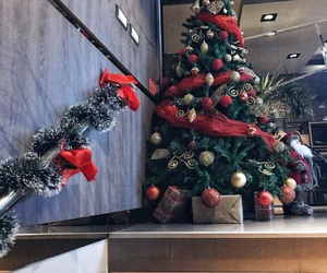 christmas, decoration, and presents image