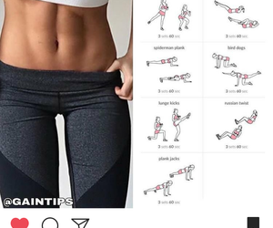 abs, core, and exercise image
