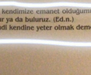 alıntı, türkçe sözler, and alıntı kitap image