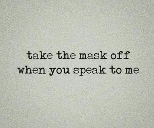 quotes, mask, and speak image
