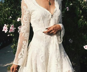 beautiful, dresses, and flower image