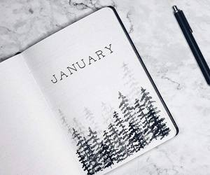 january, winter, and month image