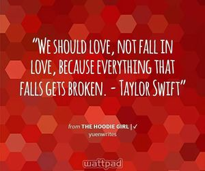 books, falling in love, and quotes image