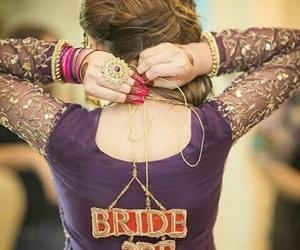 bride, dulhan, and brude to be image