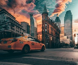 car, city, and photography image