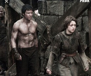 arya stark, gendry waters, and gendrya image
