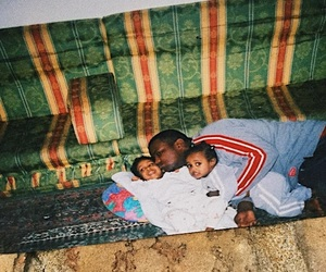 black, kids, and old school image