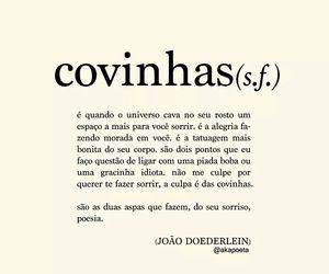 covinhas and texto image