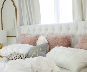 bethroom, pink, and chic image