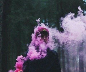 aesthetic, smoke, and tumblr image