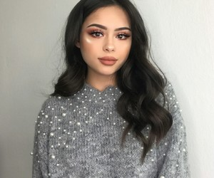 perfect hair, pretty girl, and makeup goals image