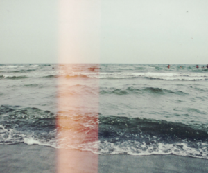 aesthetic, grunge, and ocean image