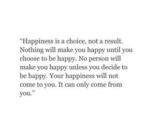happy, quotes, and sad image