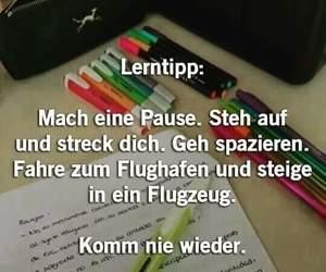 deutsch, schule, and lernen image