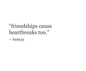 quotes, friendship, and sad image