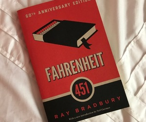 book and fahrenheit image