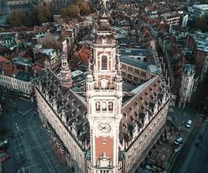 city, france, and landscape image