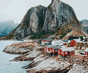 aesthetic, mountain, and norway image
