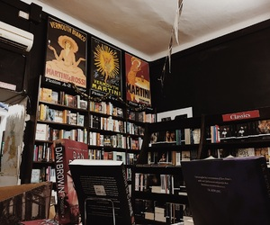 art, books, and library image
