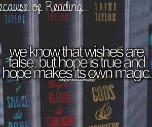 magic and because of reading... image