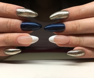 my work, nails, and gel nails image