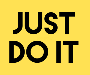 aesthetic, Just Do It, and never give up image