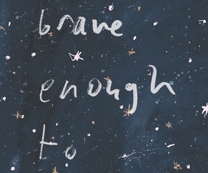 be, blue, and brave image