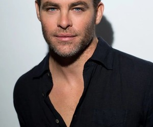 actor, chris pine, and man image