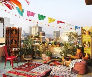 bohemian, decor, and style image