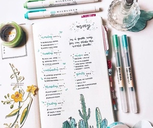 diary, tumblr, and bujo image