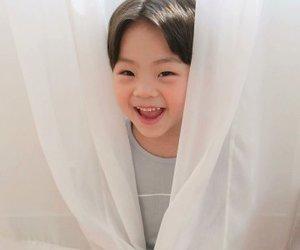 korean, korean child, and smile image