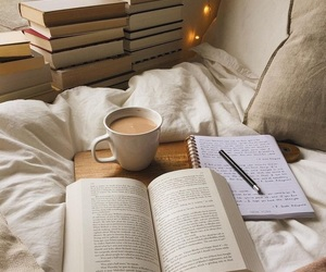 book, reading, and aesthetic image