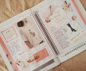 aesthetic, creative, and journal image
