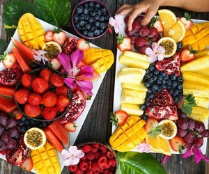 beauty, skincare, and fruit image