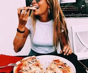 beautiful, fashion, and pizza image