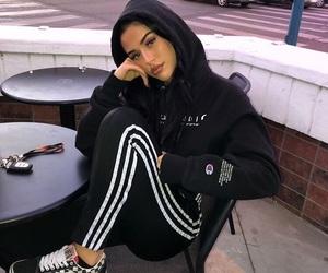 fashion, adidas, and beauty image