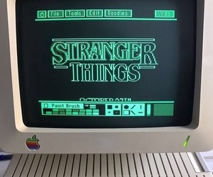 green, stranger things, and aesthetic image